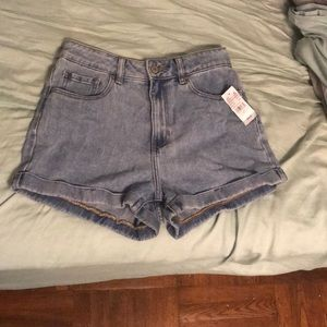 Pacsun Amber Blue Mom Shorts